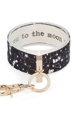 Wrist Strap Key Chain, Love You To The Moon