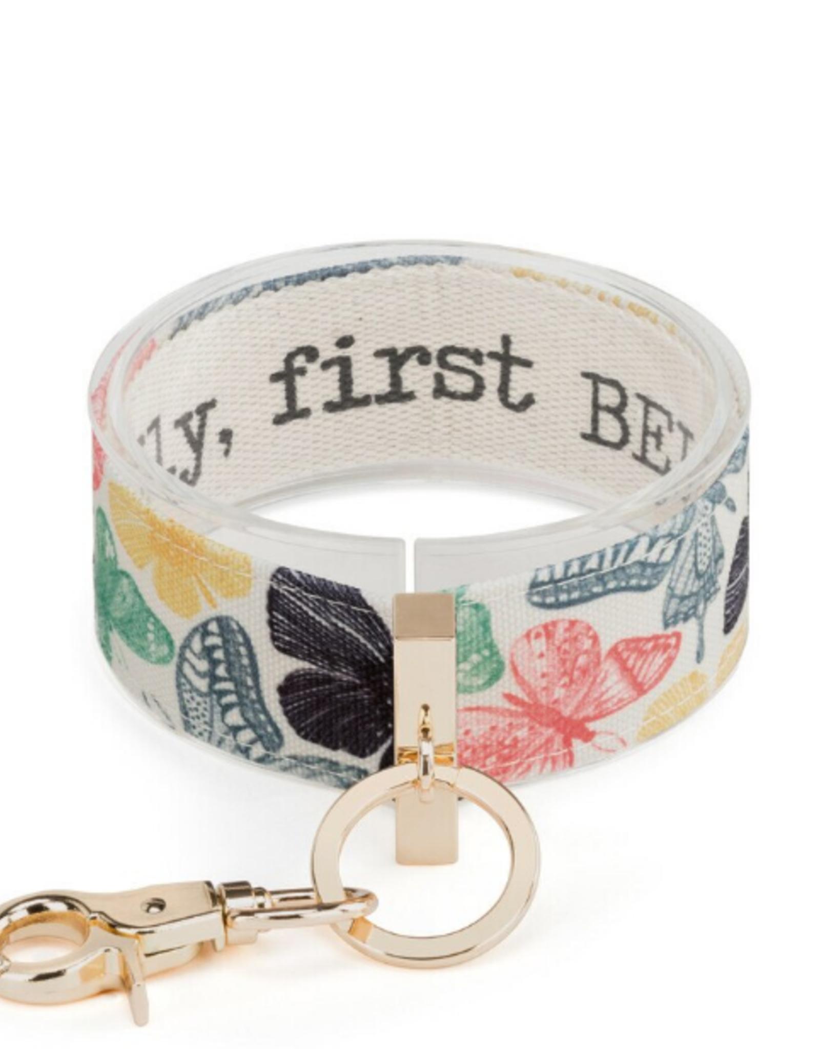Wrist Strap Key Chain, To Fly, First Believe