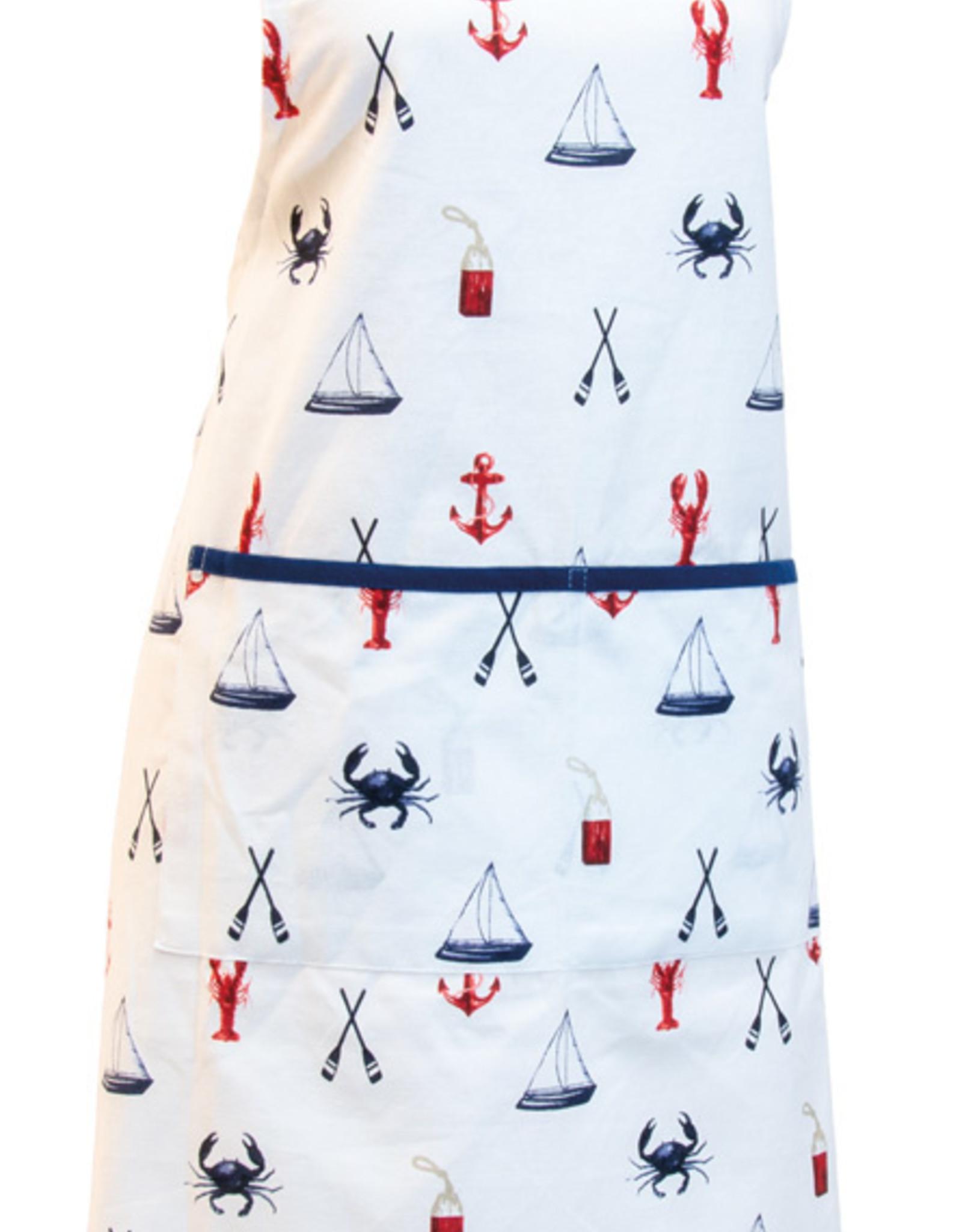 Boston International Apron, Nautical Icons