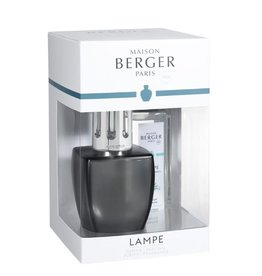 Maison Berger Lampe, June Grey w/Aloe Vera Water Oil