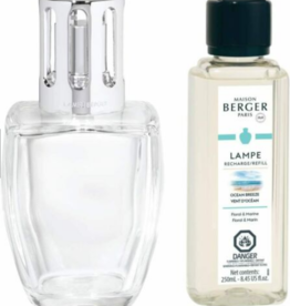 Maison Berger Lampe, June Clear w/Ocean Breeze Oil