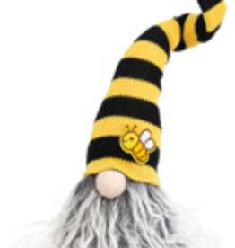 Boston International Grey Beard Bee Gnome