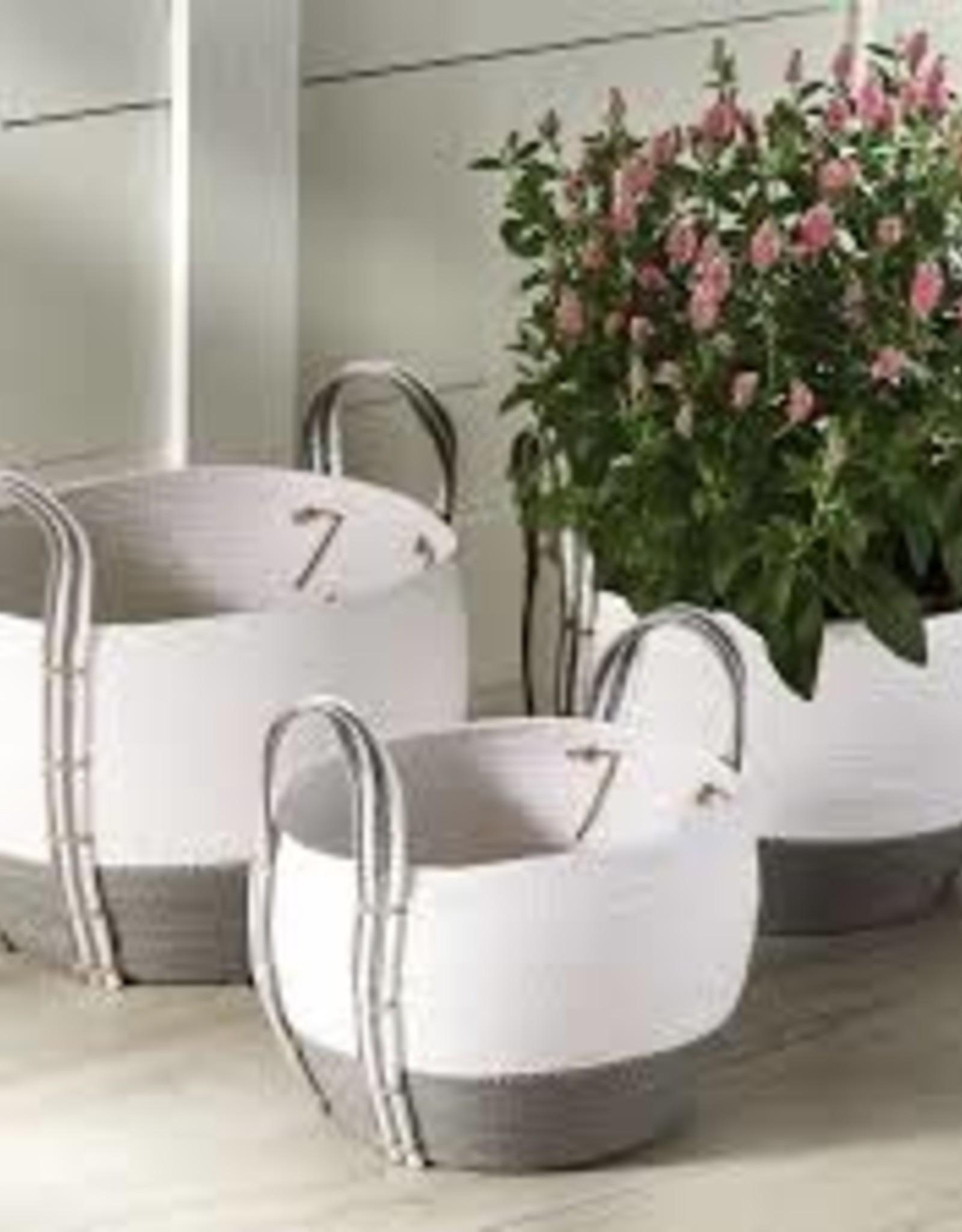 Two Toned Basket, Large