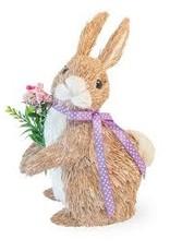 Boston International Willow Floral Bunny
