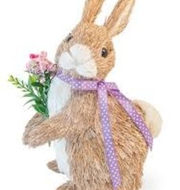 Boston International Willow Floral Bunny