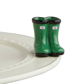 Nora Fleming Jumpin' Puddles Galoshes, mini