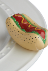 Nora Fleming Chicago Dog, mini
