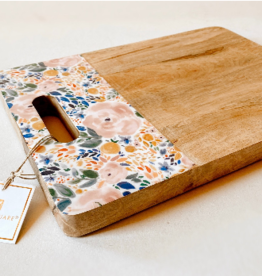 Mary Square Floral Cutting Board