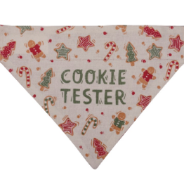 Pet Bandana - Cookie Tester/Santa's Fav