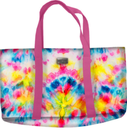 Jane Marie Tie Dye Beach Bag