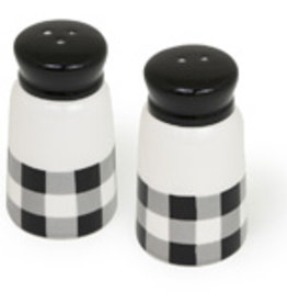 Boston International Salt & Pepper, Black & White Check
