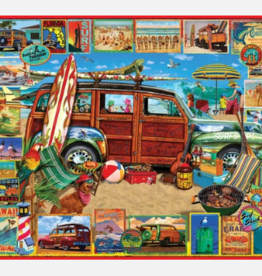 White Mountain Puzzles Puzzle, Surfin' Woody