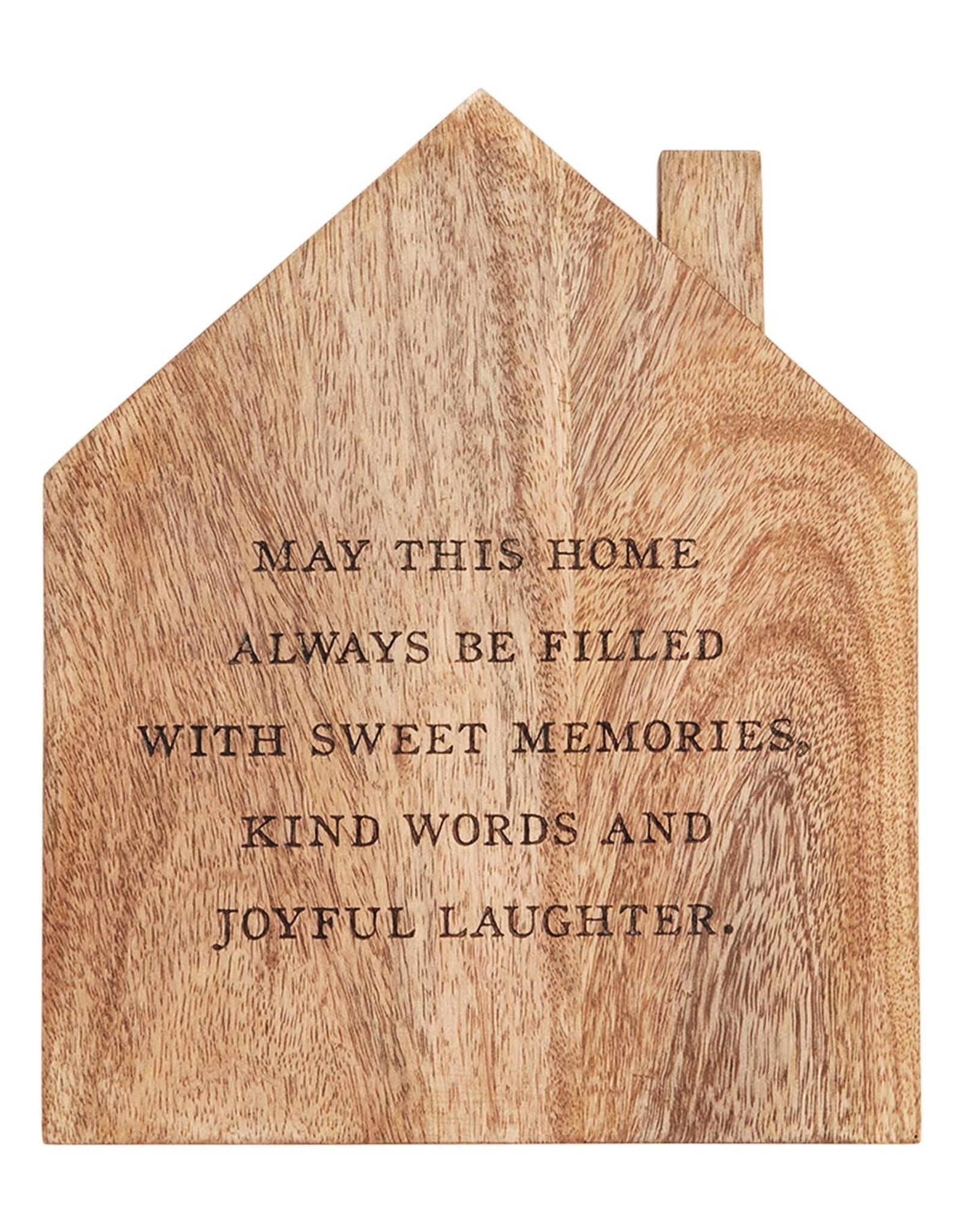 House Wood Trivet