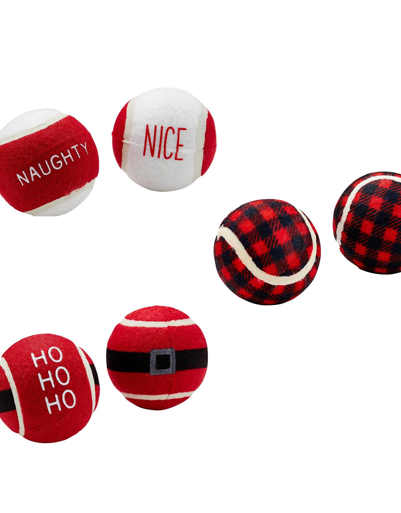 Christmas Tennis Ball