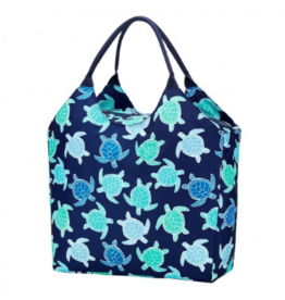 Viv & Lou Beach Bag, Mrytle Turtle