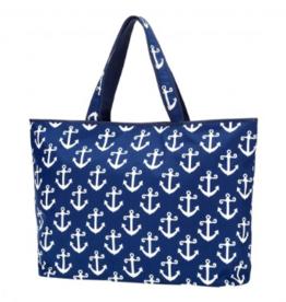 Viv & Lou Beach Bag, Anchors