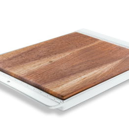The Giving Table Walnut Insert for Rectangle Tray