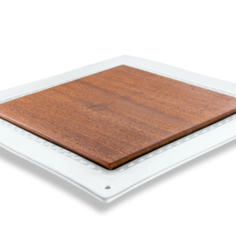The Giving Table Walnut Insert for Square Platter
