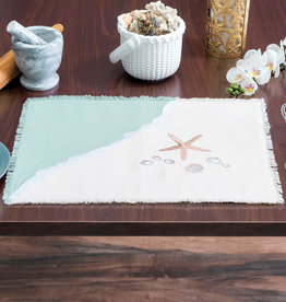 Rightside Design Placemat, Sea Shells, Set of 2