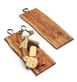 Serving Board w/Iron Handle, Medium