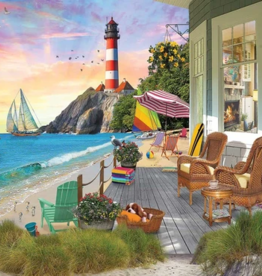 White Mountain Puzzles Puzzle, Beach Vacation