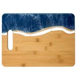 Sea Lion Studio Ocean Cutting Board, Large