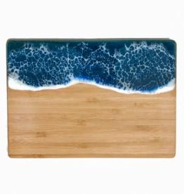 Sea Lion Studio Ocean Cutting Board, Small Horizontal