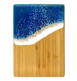 Sea Lion Studio Ocean Cutting Board, Small Vertical