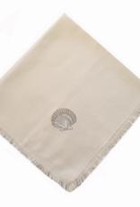 Rightside Design Cloth Napkins, Sea Shells, Set of 4