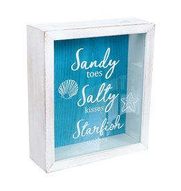 DEI Shell Holder - Sandy Toes Salty Kisses