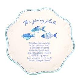 DEI Fish Giving Plate