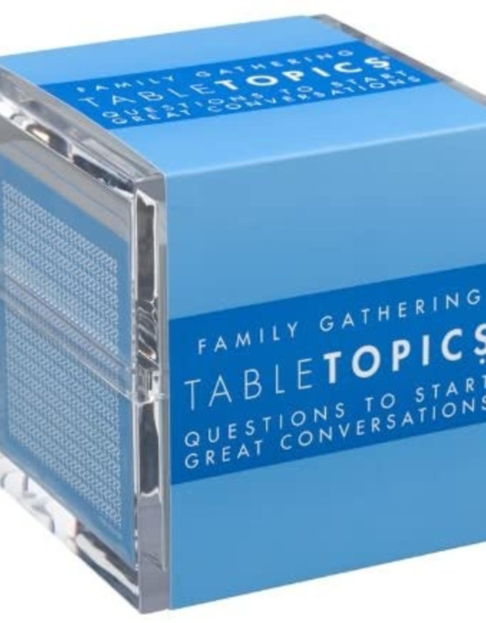 Table Topics Table Topics, Family Gathering