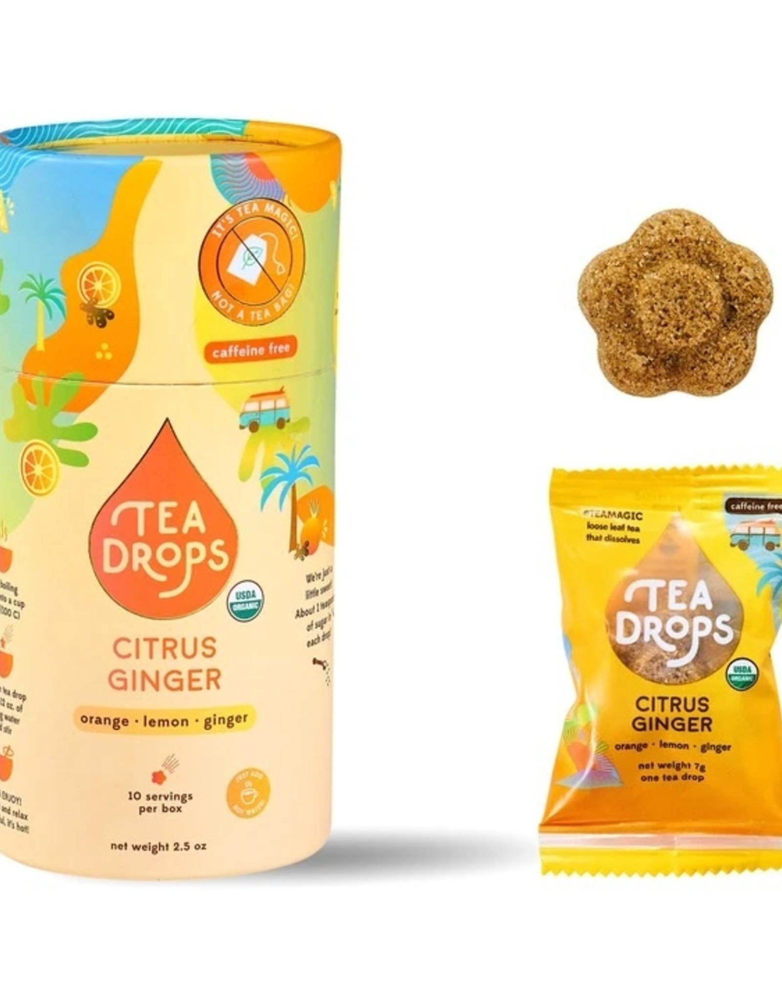 Tea Drops Tea Drops, Citrus Ginger