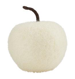 Felted Apple, Cream