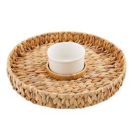 Chip & Dip Water Hyacinth Basket