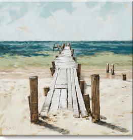 Sullivans Wall Art, Beach Dock