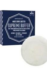 Spongelle Men's Super Buffer, Cedar