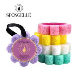 Spongelle Wild Flower Buffer, Sugar Dahlia