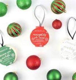 Spongelle Holiday Ornament Buffer, Winter Rose