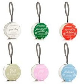 Spongelle Holiday Ornament Buffer, Quince