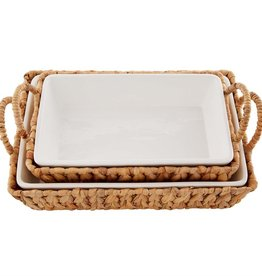 Small Baker in Water Hyacinth Basket