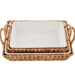 Large Baker in Water Hyacinth Basket