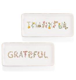Tidbit Dish, Thankful/Grateful