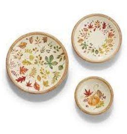 Wood Bowls, Autumn Allure, Medium