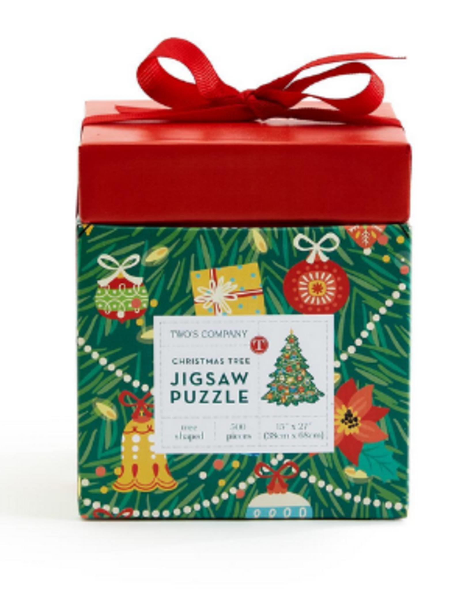 Christmas Tree Shape Puzzle 500 pc