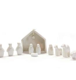 Miniture Nativity Set 11 pc
