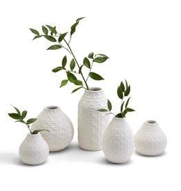 Basketweave Vase, Tall