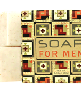 Greenwich Bay Trading Co. Square Bar Soap, For Men