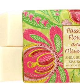Greenwich Bay Trading Co. Square Bar Soap, Passion Flower
