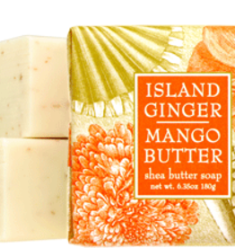 Greenwich Bay Trading Co. Square Bar Soap, Island Ginger